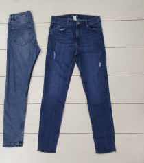 پک 12 عددی شلوار جینز زنانه مارک h&m